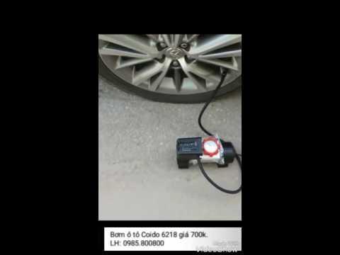 Test Bơm ôtô COIDO 6218 giá 700k.