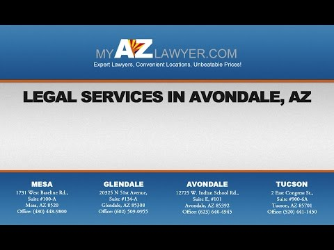 Legal Services in Avondale with My AZ Lawyers