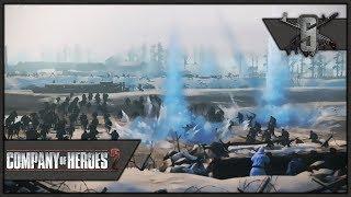 "Soviet ""Iceland"" Defense - Company of Heroes 2 - Theater of War: Barbarossa Singleplayer #4"