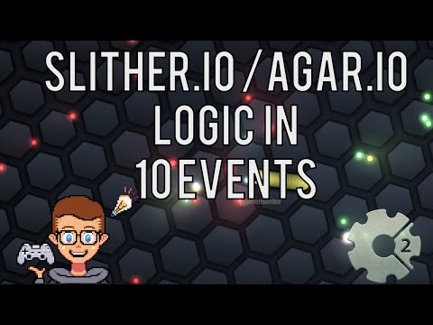Construct 2: Slither.io/Agar.io Clone in 10 Events!