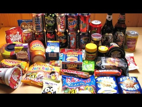 Food and Drinks from the UK