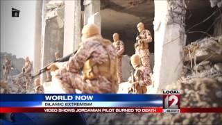 Militants' video shows Jordanian pilot burned alive