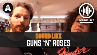 Sound Like Guns 'N' Roses - Without Busting The Bank
