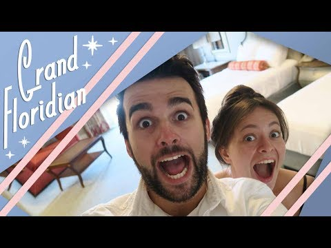 Disney's Grand Floridian Main Building Club Level | Walt Disney World Vlog | May 2017 | Adam Hattan
