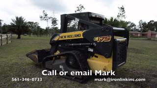 2008 New Holland C175 compact track loader for sale by Ironlink Inc