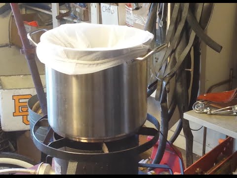 How To BIAB - Brew 2 Gallon Batches Of Beer Using The Brew IN A Bag Method