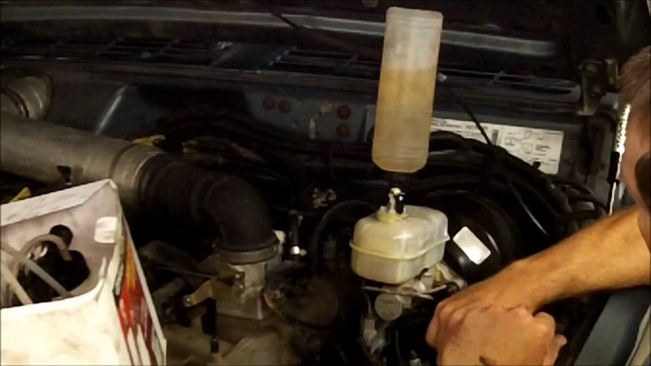 hight resolution of how to install a dodge durango master cylinder in a jeep cherokee xj youtube