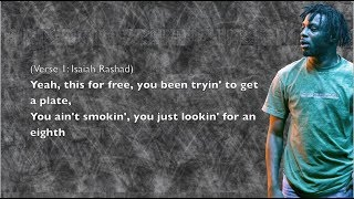 Isaiah Rashad - The Race - Lyrics