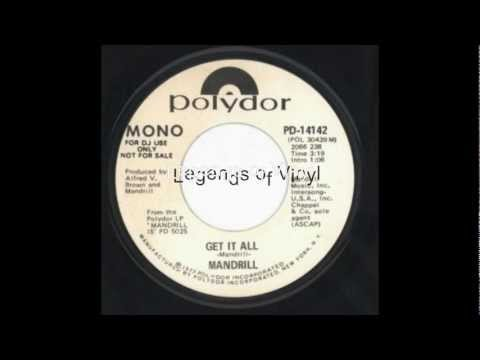 Legends of Vinyl Presents Mandrill - Get It All - Polydor Records - 1972.mp4