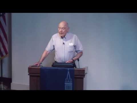 Dow Distinguished Lecture: John W. Cahn, NIST