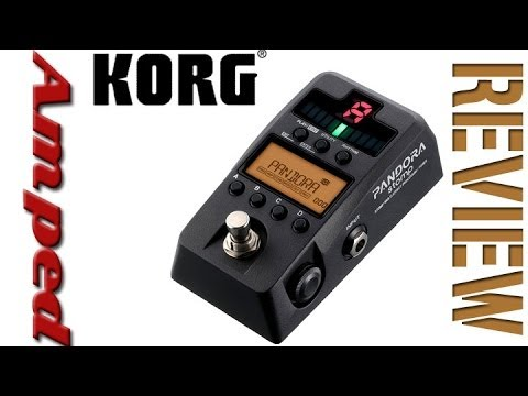Korg Pandora Stomp Effects Review