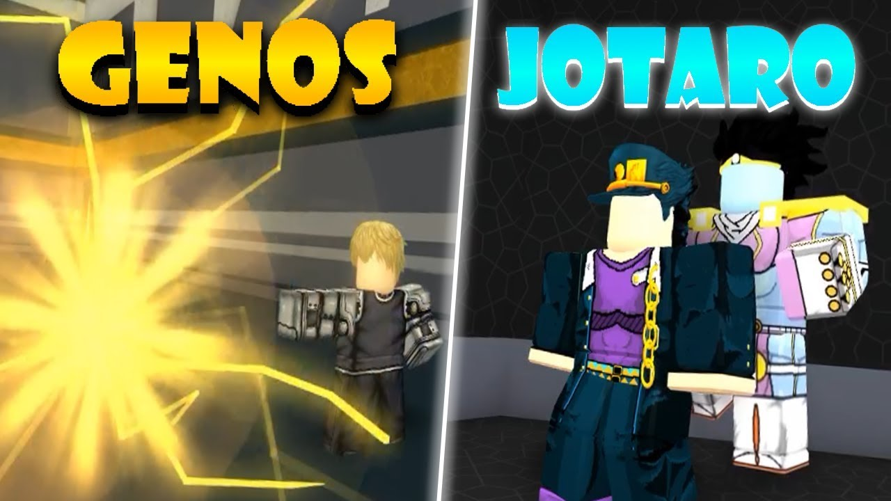 Genos And Jotaro In Anime Cross 2 Roblox Anime Cross 2 - roblox anime cross 2 madara