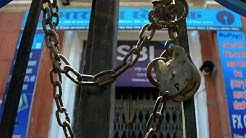 Bank strike begins today: Several bank branches closed