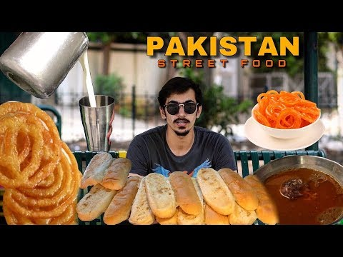 PAKISTAN STREET FOOD TOUR IN RAWALPINDI & ISLAMABAD WITH | BEEF NIHARI | ANDAY WALA BURGER.