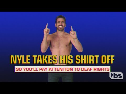 Stop Doing That! With Nyle DiMarco | January 30, 2019 Act 3 | Full Frontal on TBS