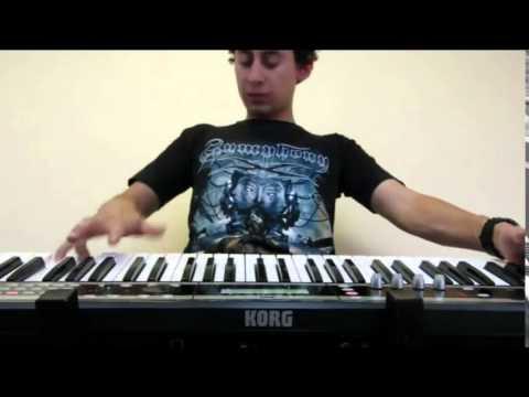 Michael Angelo Batio - No Boundaries (keyboard cover)