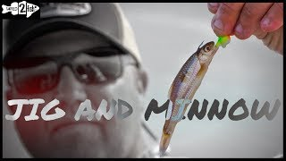 How to Fish a Jig and Minnow for Spring Walleyes