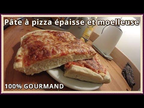 Pate A Pizza Epaisse Et Moelleuse Youtube