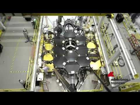 Assemblato lo specchio del telescopio spaziale James Webb...