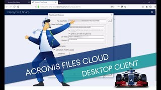 Acronis Data Cloud Technical Training: 4.4.2.Acronis Files Cloud. Desktop Client