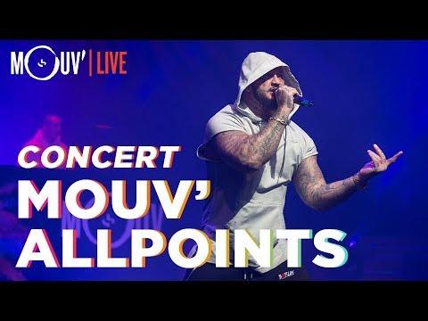 Youtube: Concert Mouv' x AllPoints: Youssoupha, Seth Gueko, S. Pri Noir, Landy, Elams