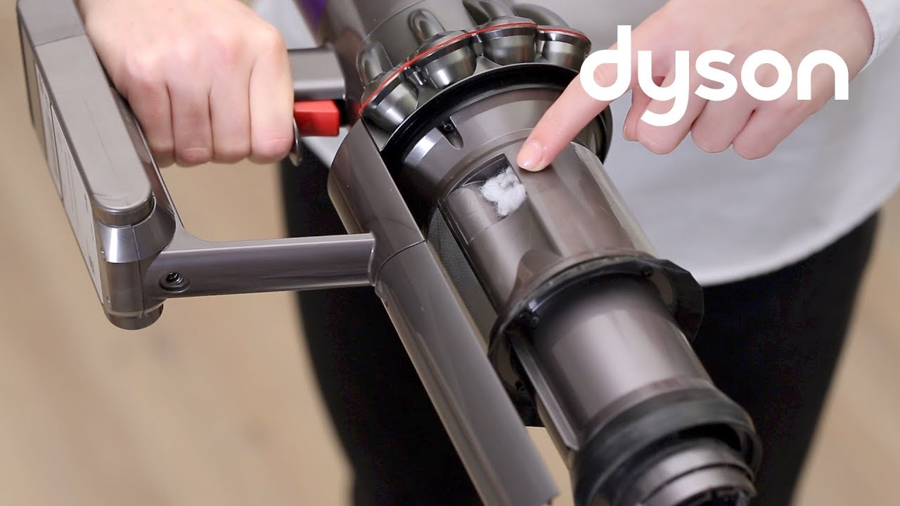 Dyson Cyclone V10 cord-free vacuums - Checking for blockages (UK and EU)