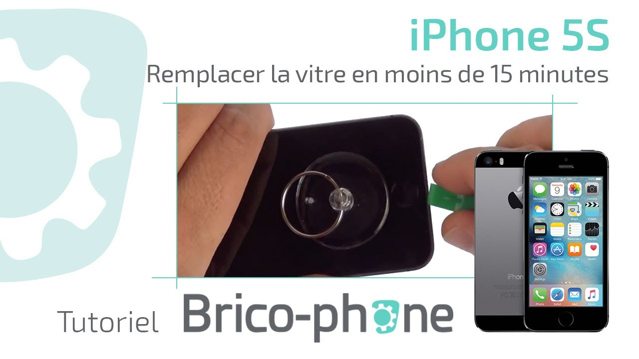 tuto iphone 5s changer la vitre en moins de 15 minutes hd youtube. Black Bedroom Furniture Sets. Home Design Ideas