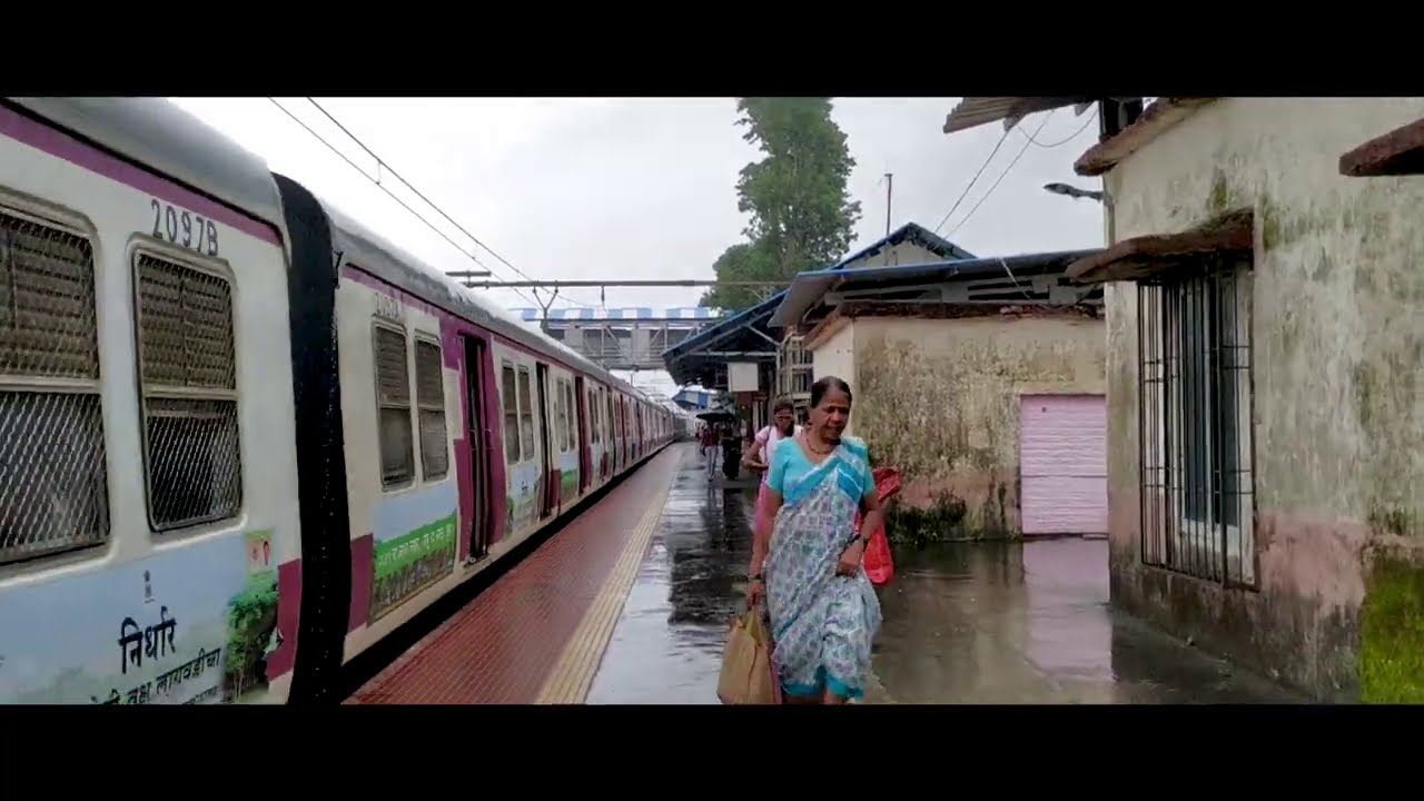 Mumbai Local Train From Its Various Stations Mumbai Max.