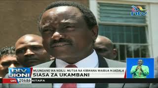 Muungano wa Ngilu, Mutua na Kibwana waibua mjadala