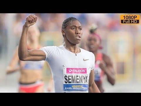 Caster Semenya dominates 400m at Kamila Skolimowska Memorial 2018