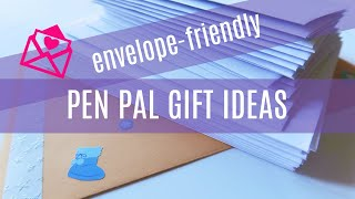 Pen Pal Gifts That Fit In An Envelope: Unique And Affordable Diy Snail Mail Present Ideas