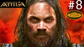 Total War: Attila #8 - Hun - Atin Bastigi Toprak Senindir - [Muhteşem Yeni Modlar] [FACECAM]