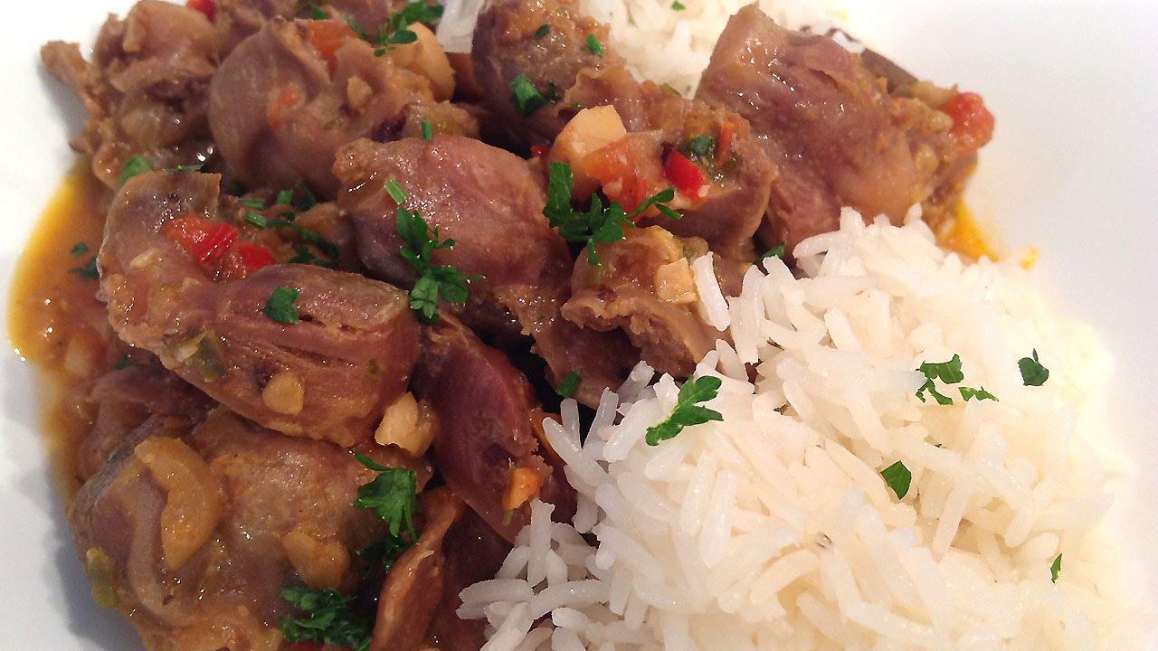Stews chicken stew. Chicken stomach stew recipe 69