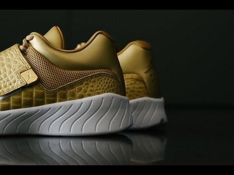 aa9d4c35868 JORDAN J23 GOLD Shoes - YouTube