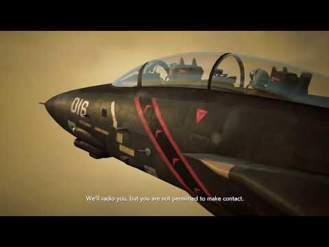 ACE COMBAT™ 7: SKIES UNKNOWN Mission 4 Rescue F-14 Razgriz