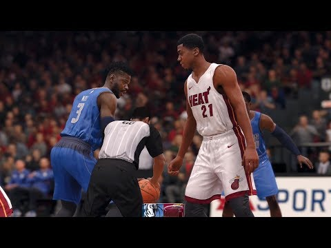 NBA Live 18 - Dallas Mavericks vs Miami Heat - Gameplay (HD) [1080p60FPS]