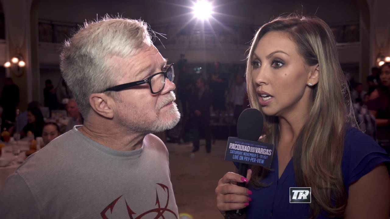 Roach: Vargas Isn't on Pacquiao's Level | Fight Announcement | Pacquiao-Vargas