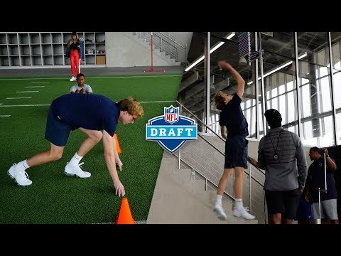 ATTEMPTING THE NFL COMBINE AT THE DALLAS COWBOYS FACILITY!