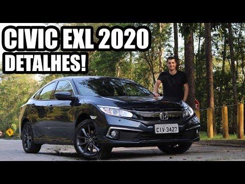 HONDA CIVIC 2020 EXL em DETALHES - Falando de Carro