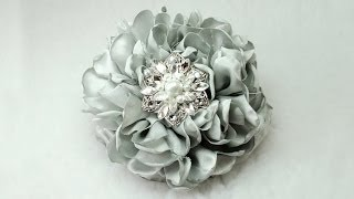 "Diy Gorgeous 6"" Fabric Flower, Tutorial, Diy, How To Do"