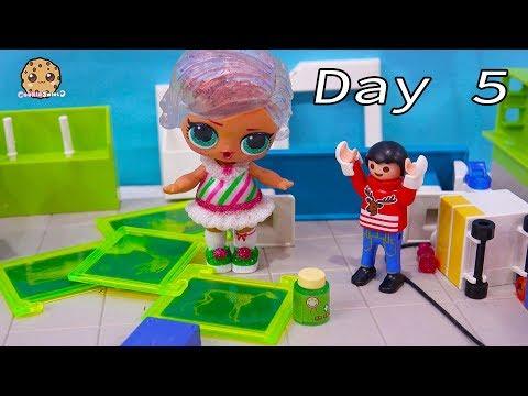 Fairy Help  LOL Surprise & Playmobil Advent Adventure Day 5