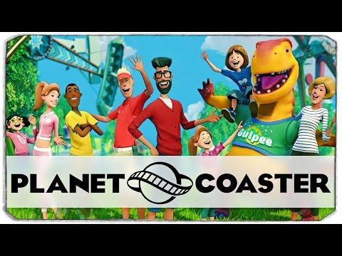 Planet Coaster: ПОСТРОЙ СВОЙ ПАРК АТТРАКЦИОНОВ!