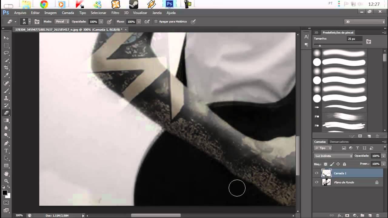 Adobe Photoshop Cs6 Como Colocar Tatuagem No Corpo Tutorial Br