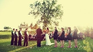 Gorgeous Central California Wedding