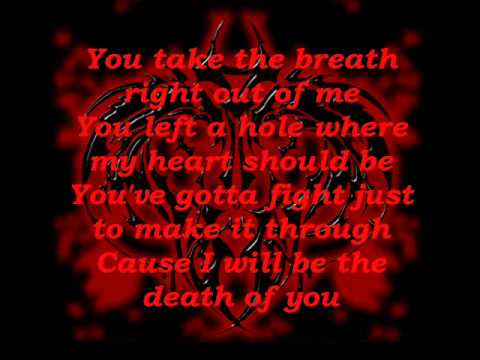 Breath by Breaking Benjamin lyrics video