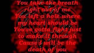 Breath by Breaking Benjamin lyrics video