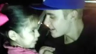 Justin Bieber Sings 'Baby' With 4 Year Old Girl! (Adorable Video)
