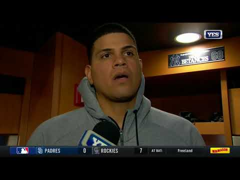 Dellin Betances walks 2 in shaky outing Tuesday