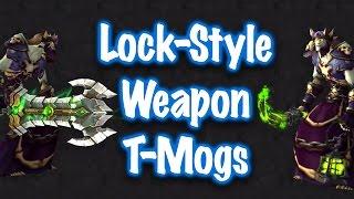 Jessiehealz - 10 Warlock-Style Weapon Transmogs (World of Warcraft)