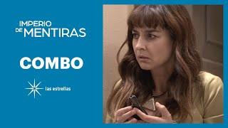 Imperio de mentiras: ¿Renata es la asesina de su padre Augusto Cantú? | C- 90 | Las Estrellas